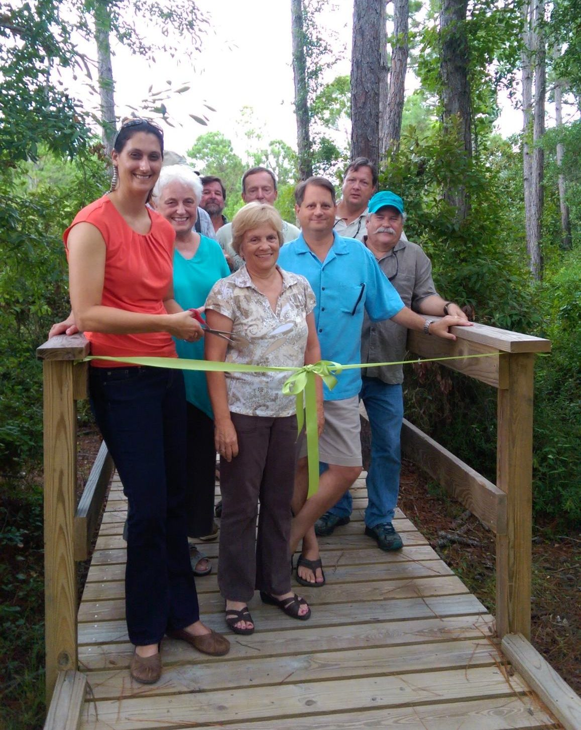 ANERR Boardwalk Ribbon-Cutting Ceremony